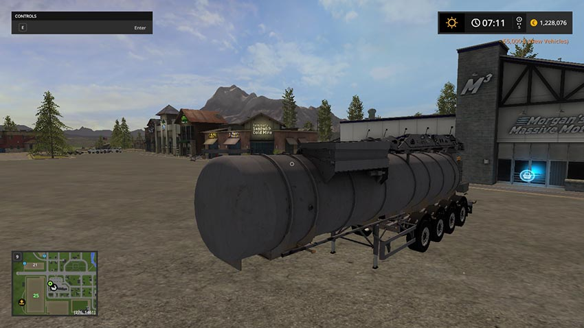 WM Tarm liquid manure trailer V 1.0