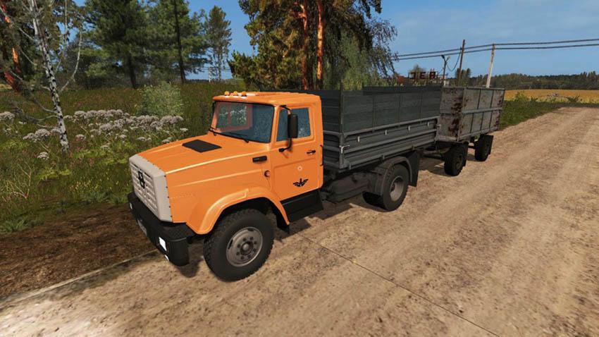 Zil 130 and Zil 45065 Pack V 1.0