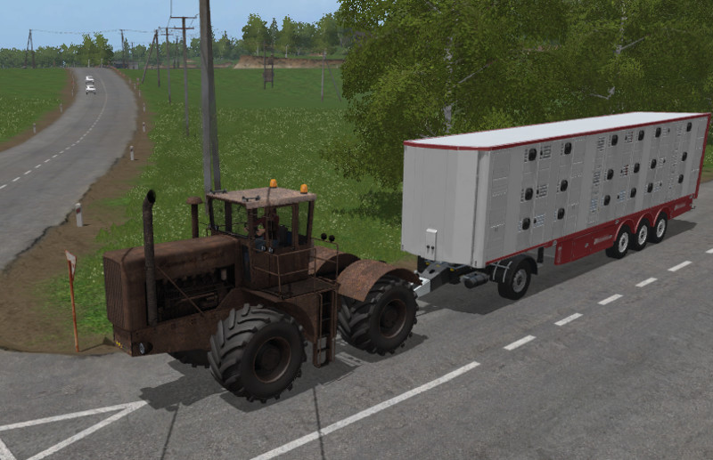 Old tractor diesel V 1.0