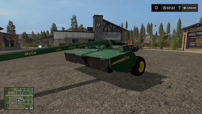 John Deere MOCO mower v 1.0