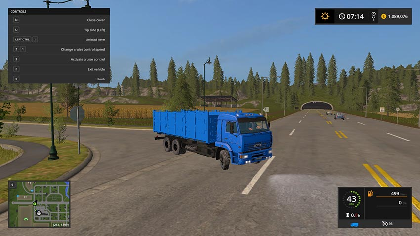 Kamaz 65117 and trailers V 1.1