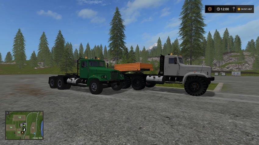 Kraz 256 M82 Special V 1.0