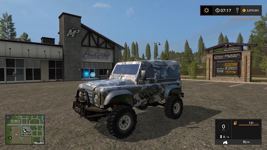 Land rover defender 90 v 1.0
