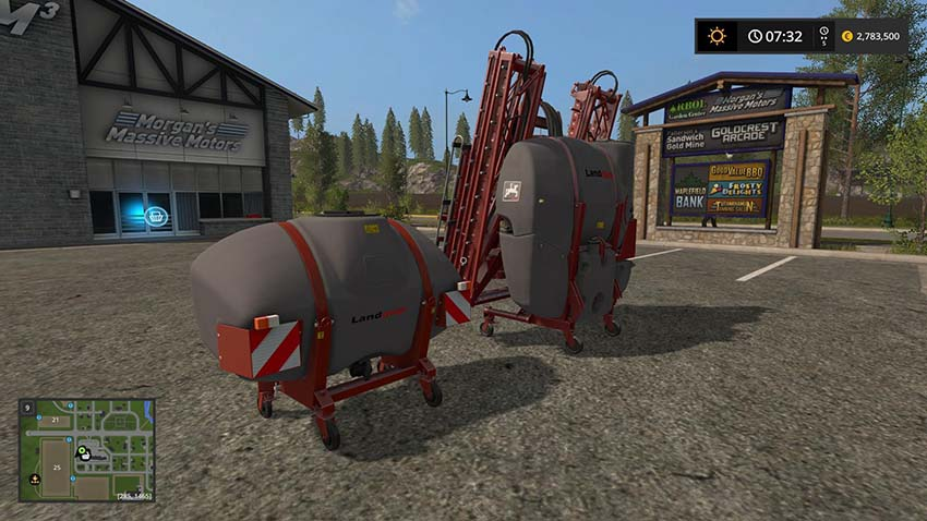 Landquip Sprayer pack v 1.0.0.1
