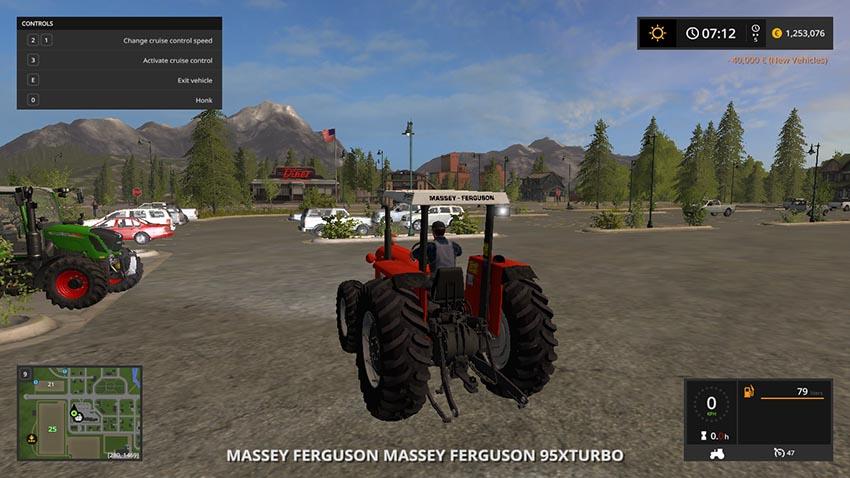 Massey Ferguson 95x Turbo v 1.0