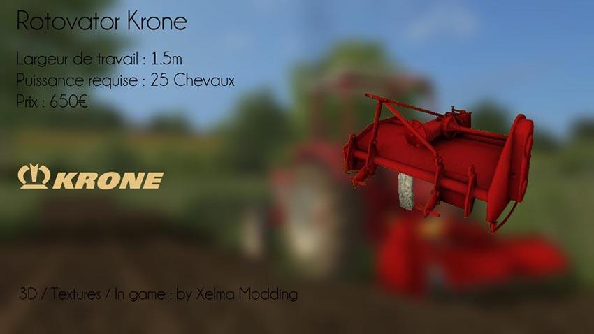 Rotovator Krone v 1.0