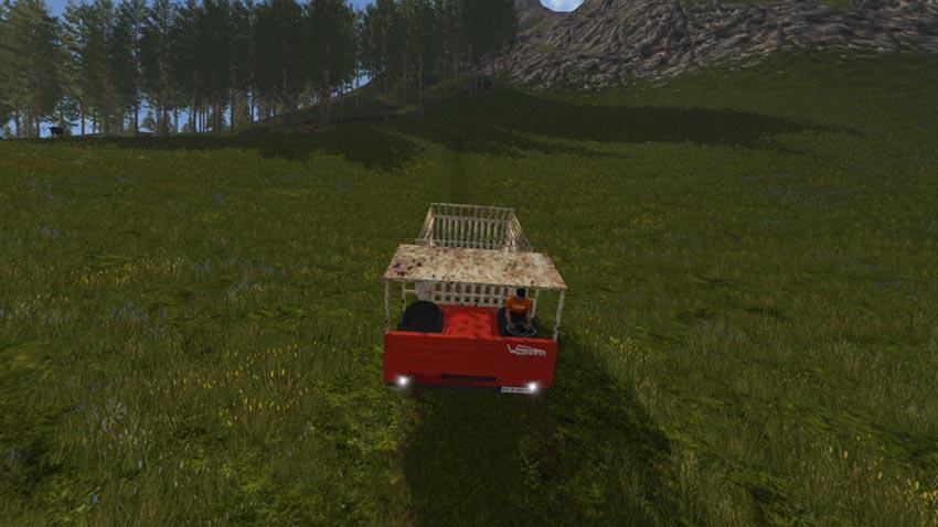 Waldhofer D22 with loading wagon V 1.0
