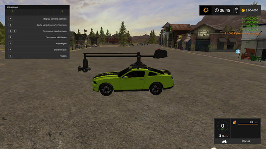 Lizard Roaderage camera car V 1.0