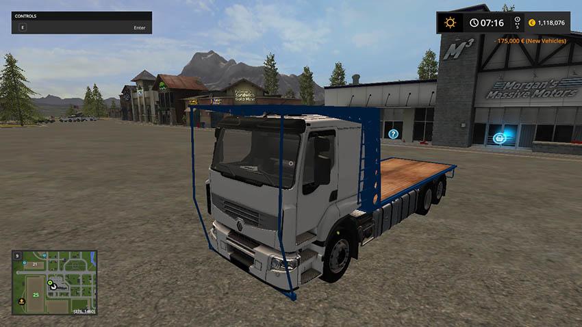 Renault bale truck v 1.0