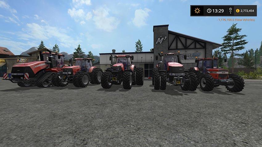 Case IH Tractor pack v 1.0.0.4