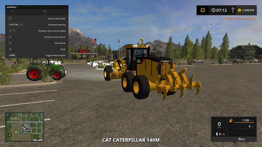Caterpillar 140M v 1.0