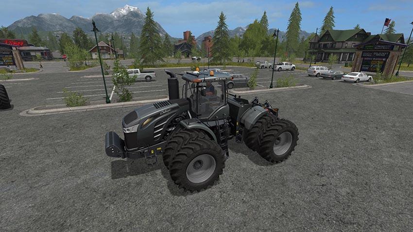 Challenger MT900E & Blackhorsch Tiger 10 LT Plough v 1.0