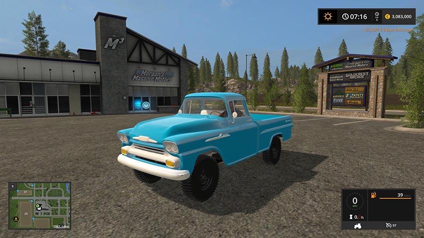 Chevrolet Apche v 2.0
