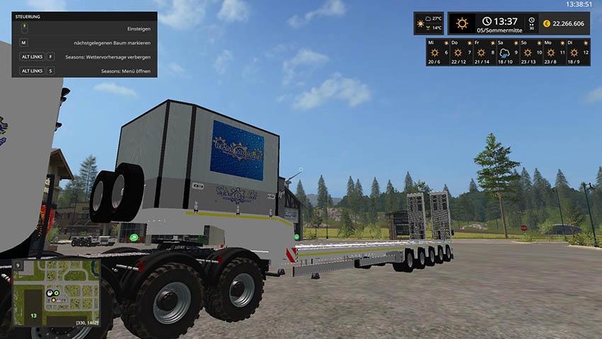 Doll Tieflader R&M Logistic v 1.0