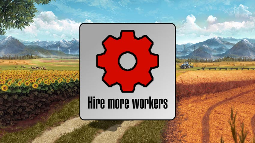 Hire more workers v 1.0