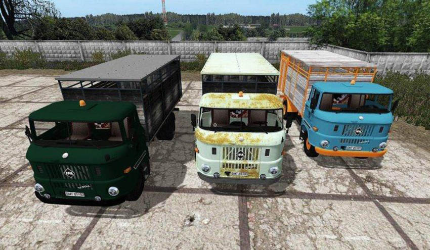 IFA W50 ANIMAL TRANSPORT v 3.0