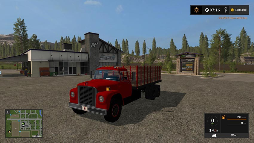 International Loadstar Grain Truck v 1.2