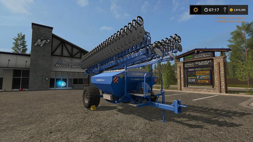 Lemken Solitair 12 Potato Planter v 1.0.0.1