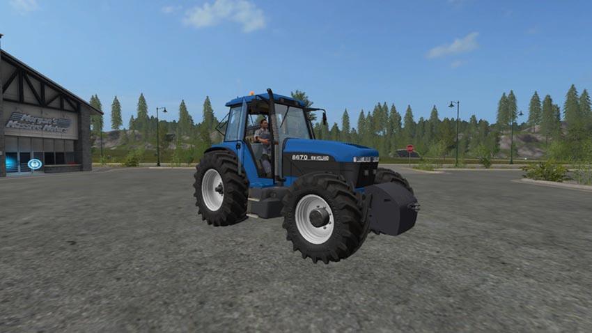New Holland 8X70 Series V 0.9