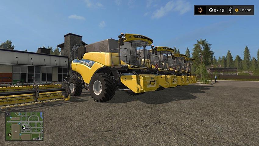 New Holland CR Extended Pack v 1.0