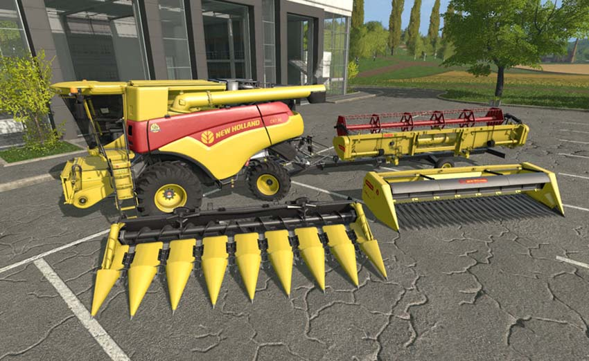 New Holland CR 7.90 120 Years pack V 1.0
