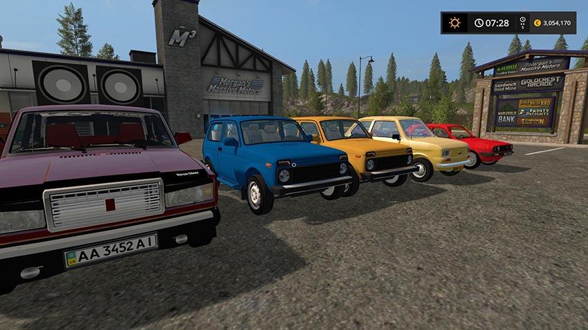 Old Car Pack v 1.0