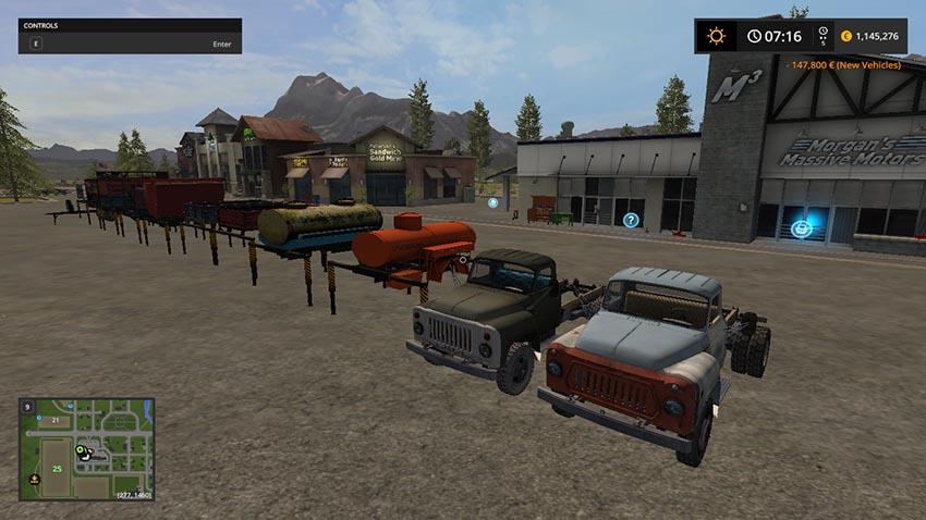 Pack GAZ 52/53 V 1.0