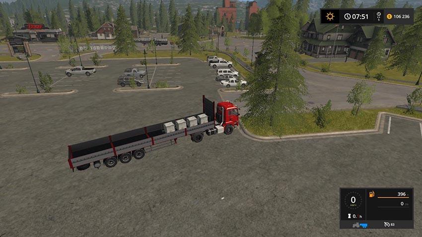 Semi trailer Kogel v 2.0