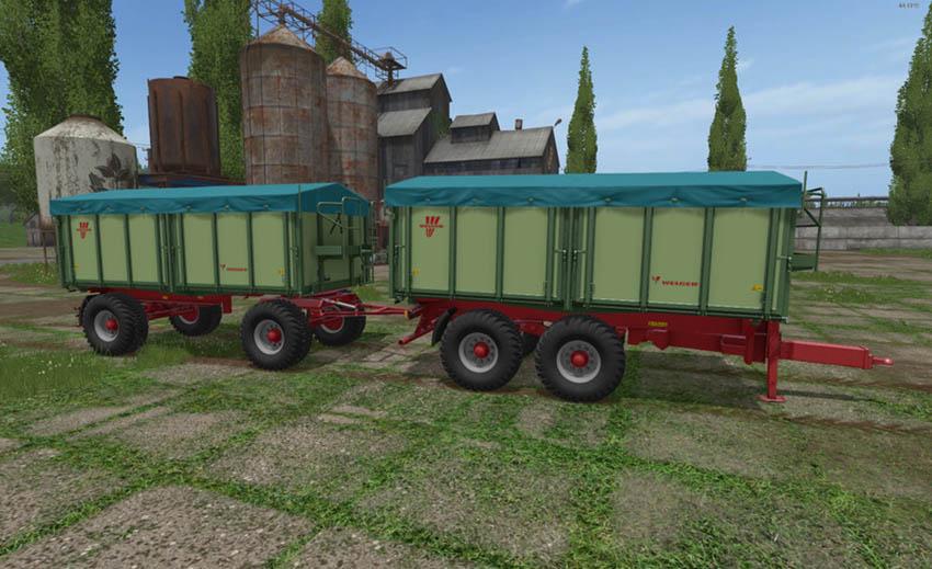 Welger DK280R and TDK300 Trailer Pack V 1.0