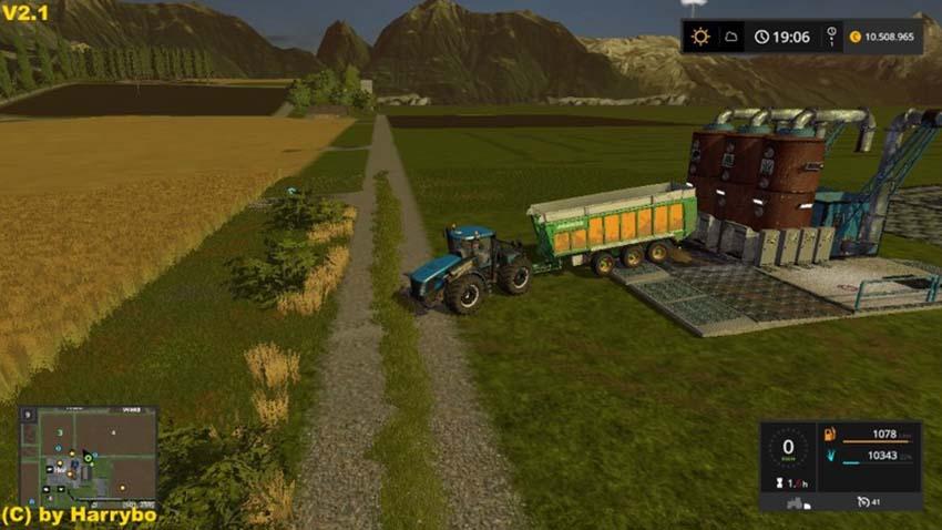 Compound fodder plant V 2.1