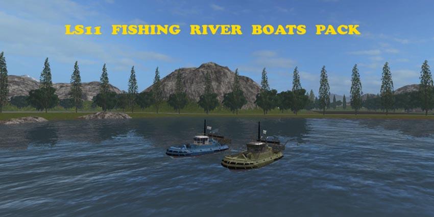Boat Fishing River V 1.0