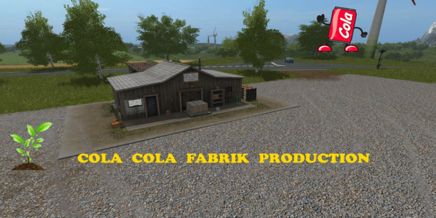 Cola cola production V 1.0