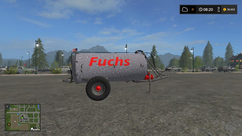 Fuchs manure spreader Vk7.500 V 1.0 Beta