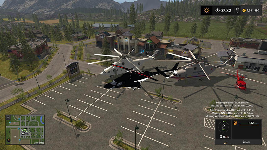 Helicopters Pack v 1.0