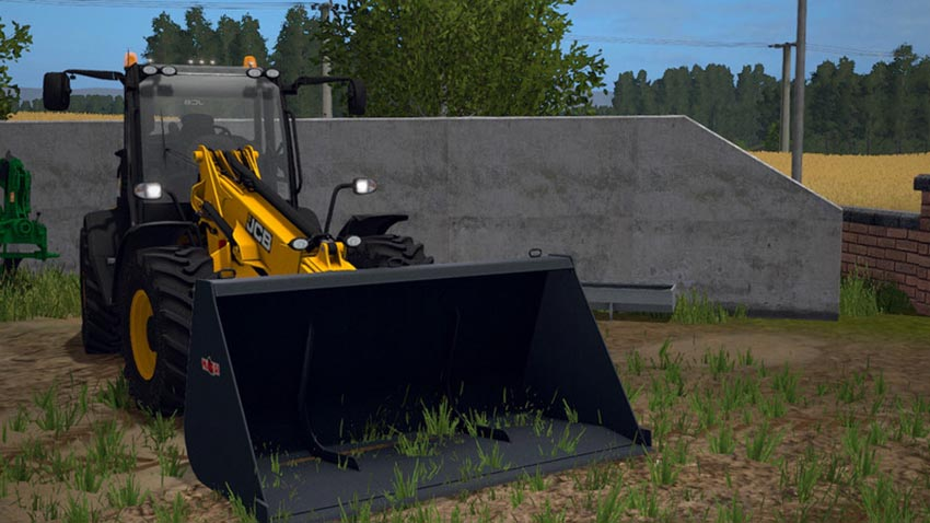 JCB TM320S With Beacons And Toplights V 1.0