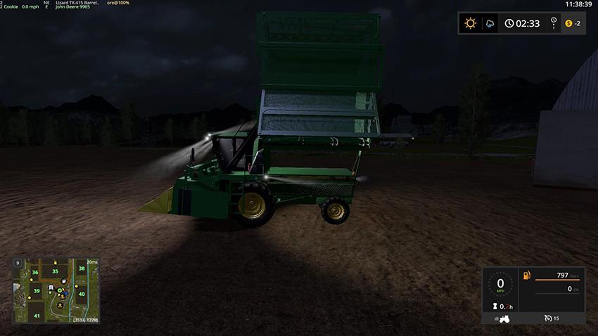 John Deere 9956 Cotton Harvestor v 1.1