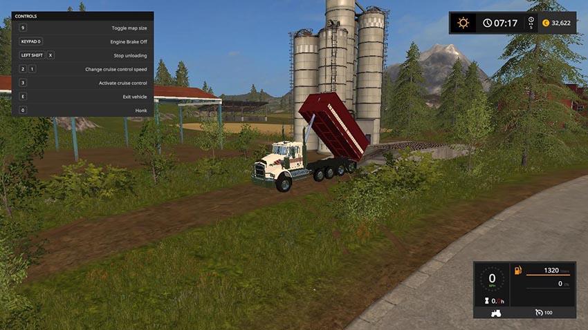 Kenworth t800 grain truck v 1.0
