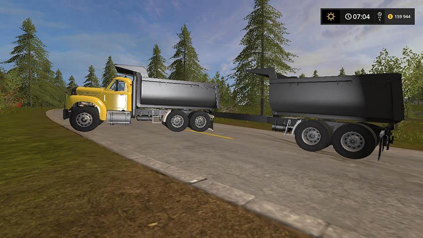 Mack Dump and Trailer PACK v 1.0