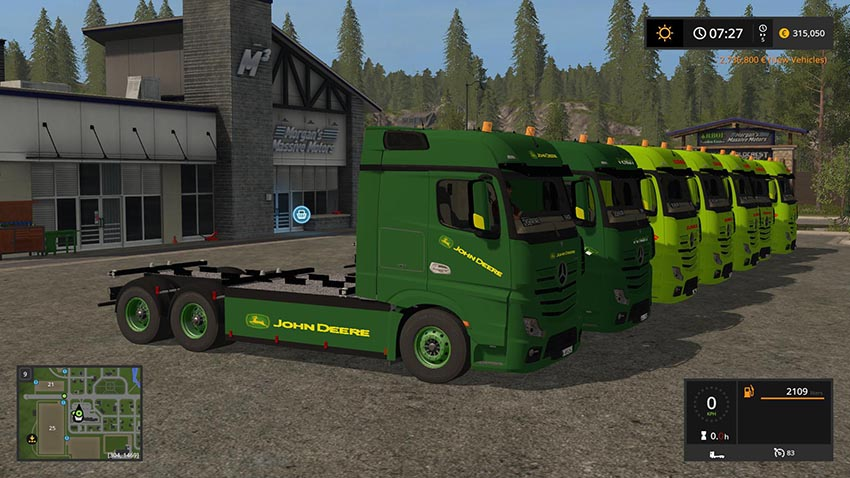 Mercedes Benz Actros Pack v 1.0