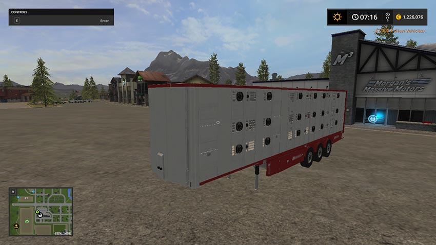 Michieletto cattle trailer V 1.1