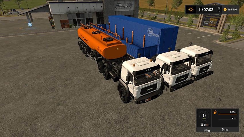 PACK URAL-M AND TRAILERS v 1.0