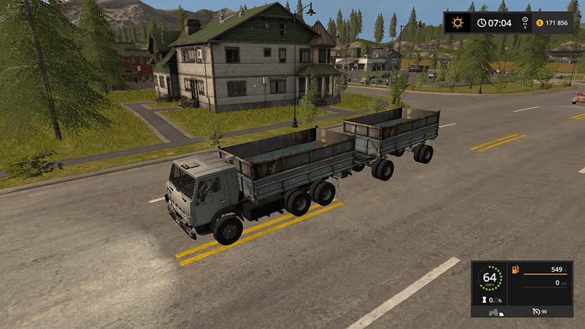 KamAZ 5320 and GKB 8551 V 2.0