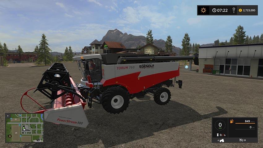 Torum Harvester Pack v 1.2