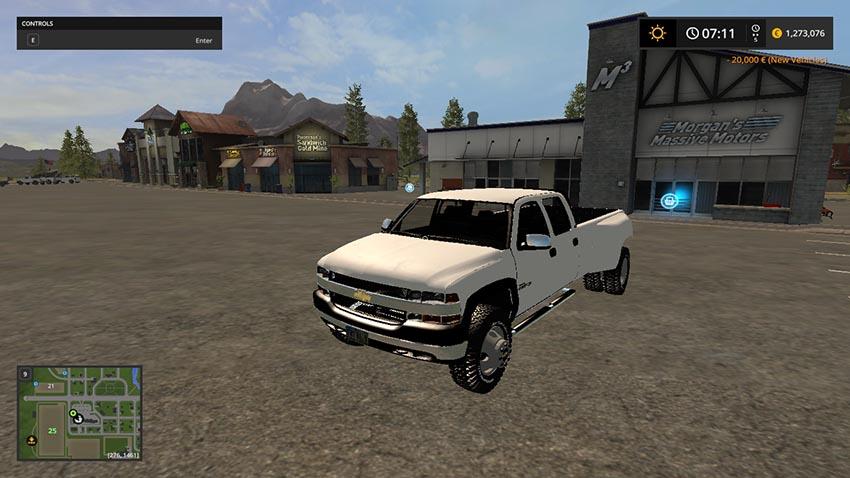 2001 Chevy 3500 Dually Roll Coal v 1.0