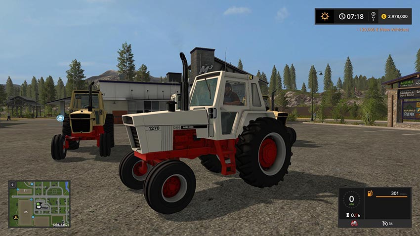 CASE 70 Series TRACTOR v 1.0