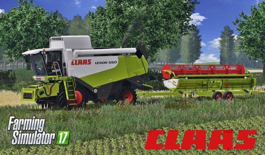 CLAAS LEXION 550 FULL PACK v 1.4.4