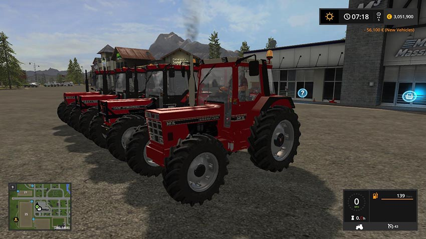 Case IH 845 XL Pack v 1.2