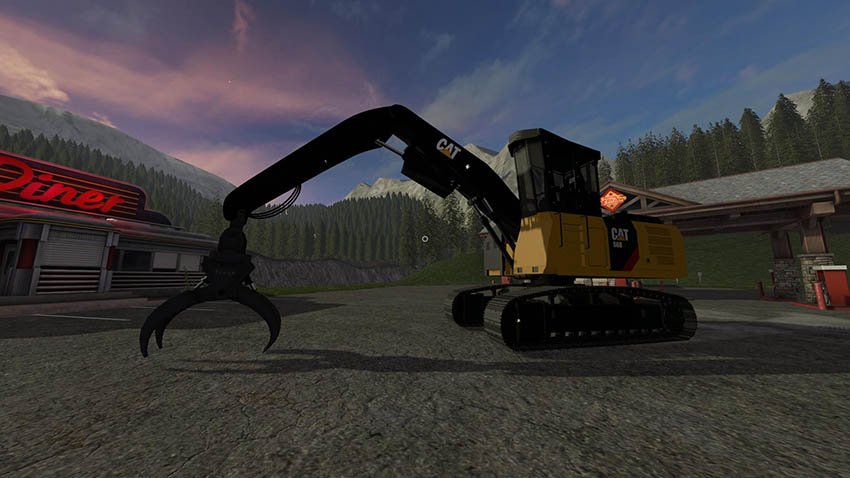 Cat 568 logging machines v1.0