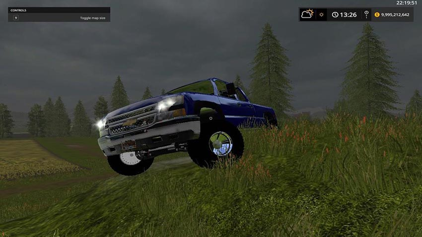 Chevy 2500 lifted v 1.0