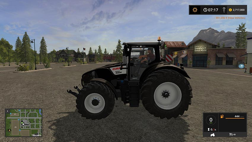 Claas Axion 800 Series Full Pack v 1.0